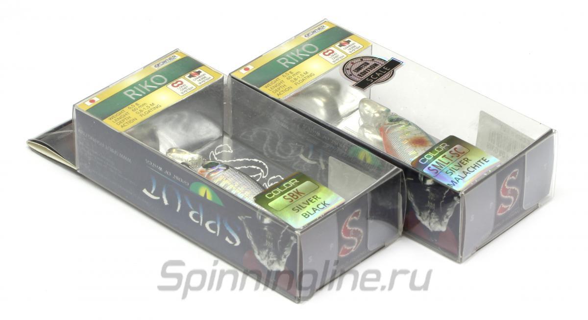 Воблер Riko 60F SBGP - фотография упаковки 1