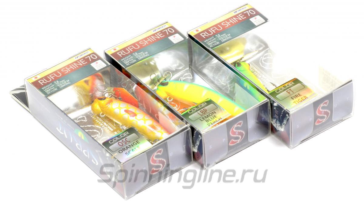 Воблер Rufu Shine 90S GBK-SC - фотография упаковки 1