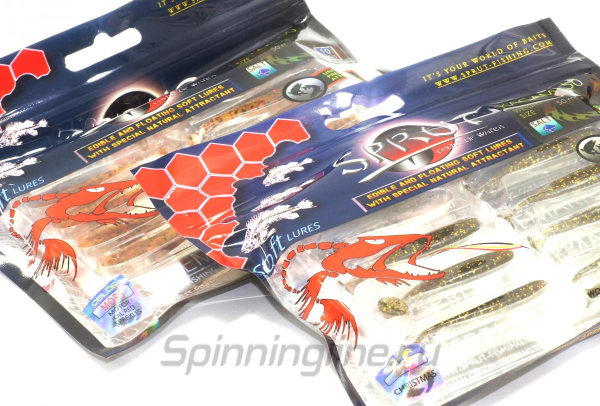 Приманка Sprut Kagami 50 GCMS - Данное фото демонстрирует вид упаковки, а не товара. Товар на фото может отличаться по цвету, комплектации и т.д. Дизайн упаковки может быть изменен производителем 1