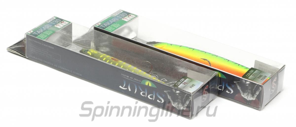 Воблер Takari 130S YSC - фотография упаковки 1