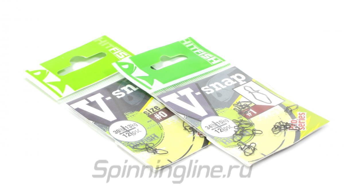 Карабины V-Snap №2 - фотография упаковки (дизайн упаковки может быть изменен производителем) 1