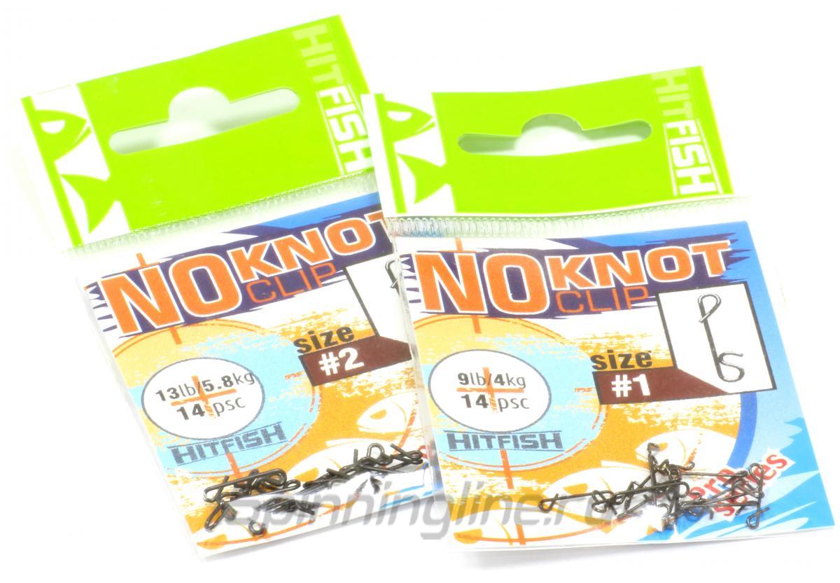 Застежка безузловая No Knot Clip №1 - фотография упаковки 1