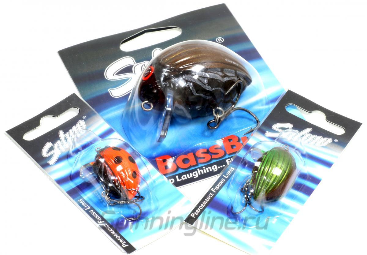 Воблер Bass Bug F GBG - фотография упаковки 1