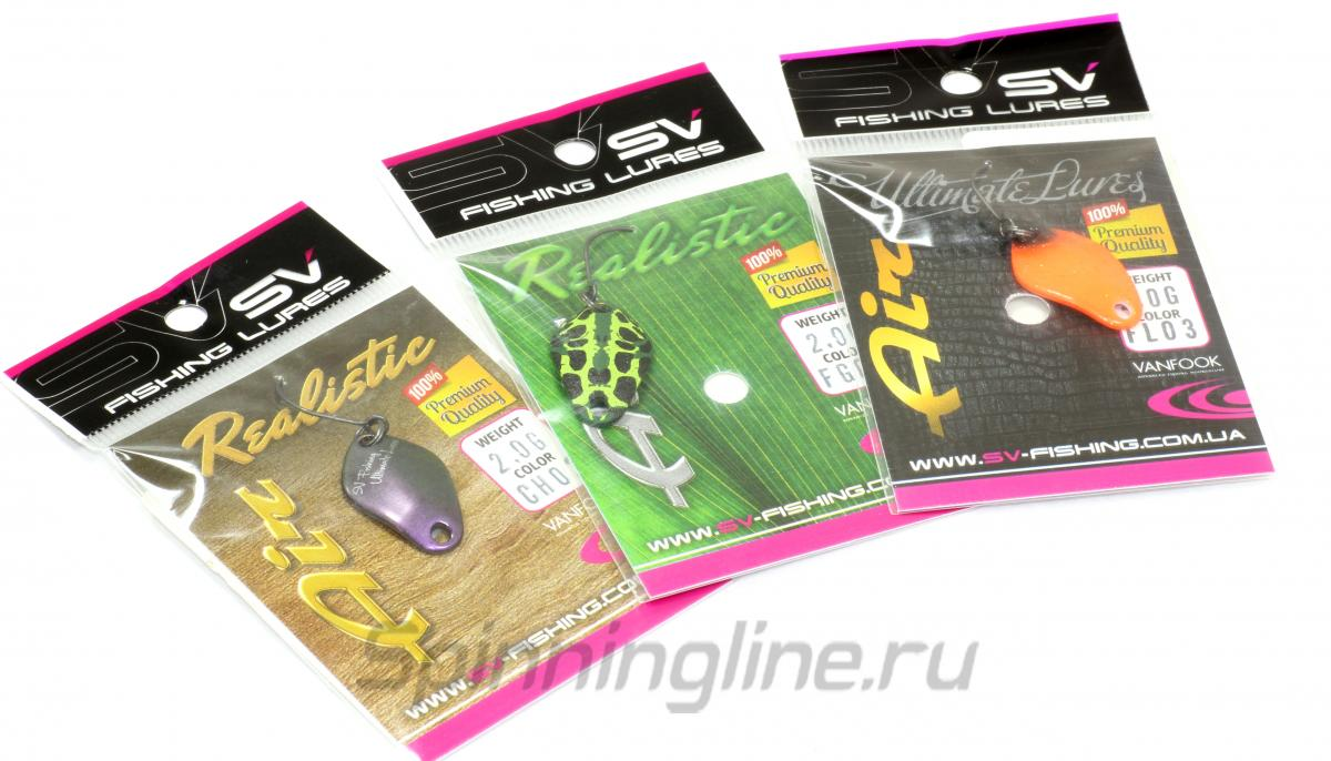 Блесна Air 1гр FL11 - фотография упаковки 1