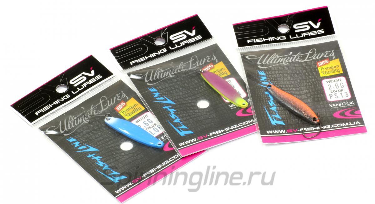 Блесна Flash Line 2,6гр PS13 - фотография упаковки 1