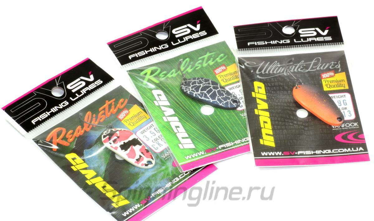 Блесна Individ 3,9гр PS13 - фотография упаковки 1