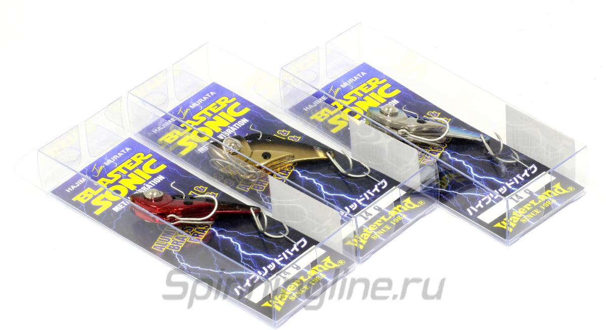 Блесна Blaster Sonic 14гр Chart/Silver - фотография упаковки 1