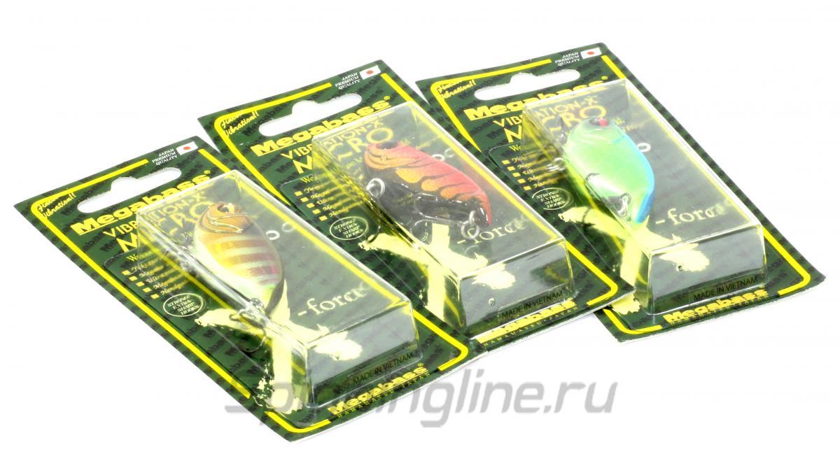 Воблер Vibration-X Micro blue back chart - фотография упаковки 1