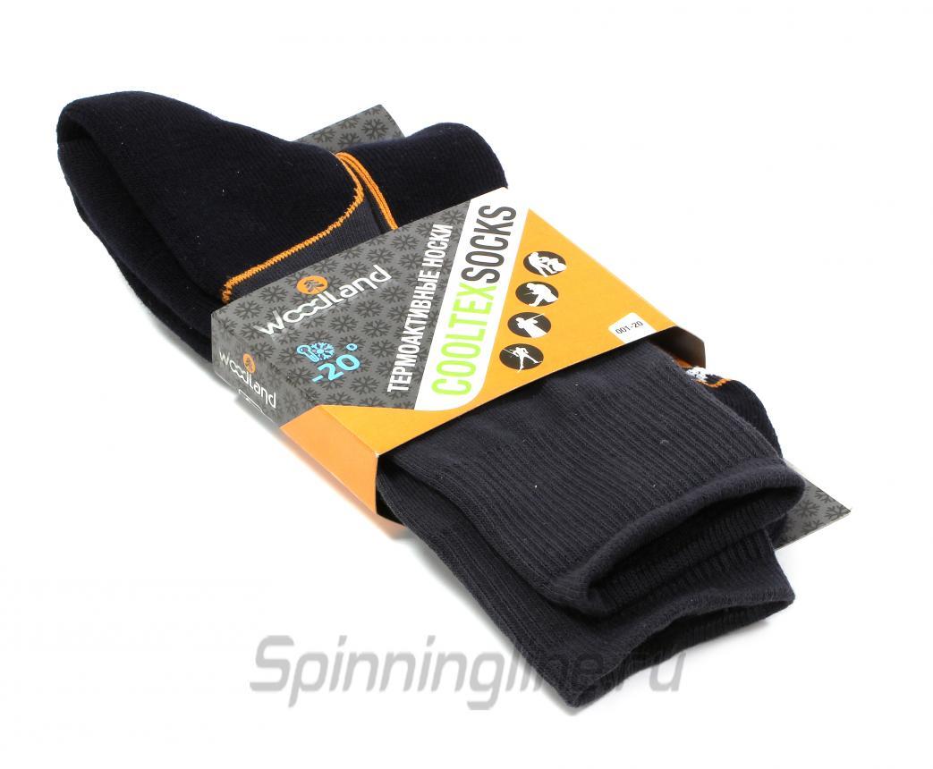 Носки Woodland CoolTex Socks 44-46 - Данное фото демонстрирует вид упаковки, а не товара. Товар на фото может отличаться по цвету, комплектации и т.д. Дизайн упаковки может быть изменен производителем 1