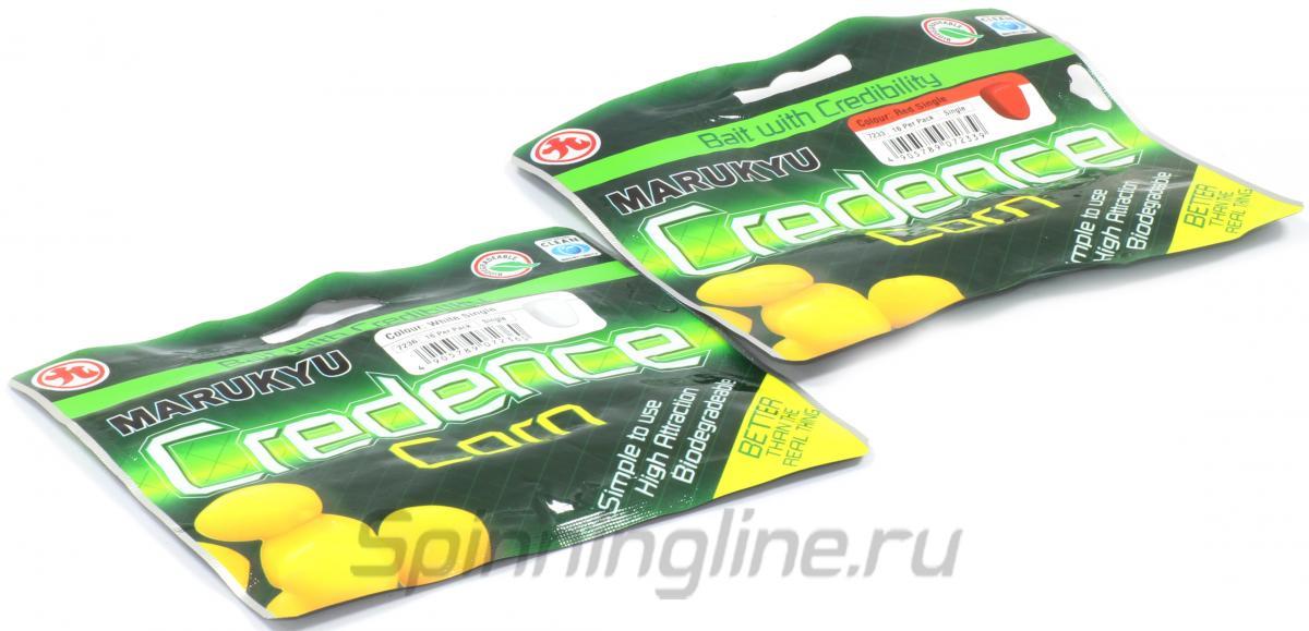 Приманка Marukyu Corn Single White - Данное фото демонстрирует вид упаковки, а не товара. Товар на фото может отличаться по цвету, комплектации и т.д. Дизайн упаковки может быть изменен производителем 1