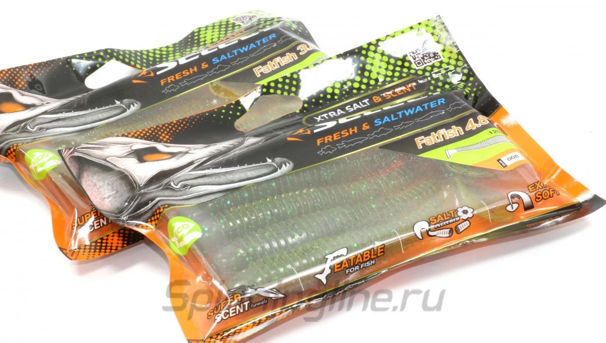 """Приманка Select Fatfish 4.8"""" 045 - Данное фото демонстрирует вид упаковки, а не товара. Товар на фото может отличаться по цвету, комплектации и т.д. Дизайн упаковки может быть изменен производителем 1"""