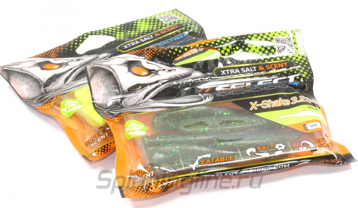 """Приманка Select X-Shake 3.25"""" PA44 - Данное фото демонстрирует вид упаковки, а не товара. Товар на фото может отличаться по цвету, комплектации и т.д. Дизайн упаковки может быть изменен производителем 1"""