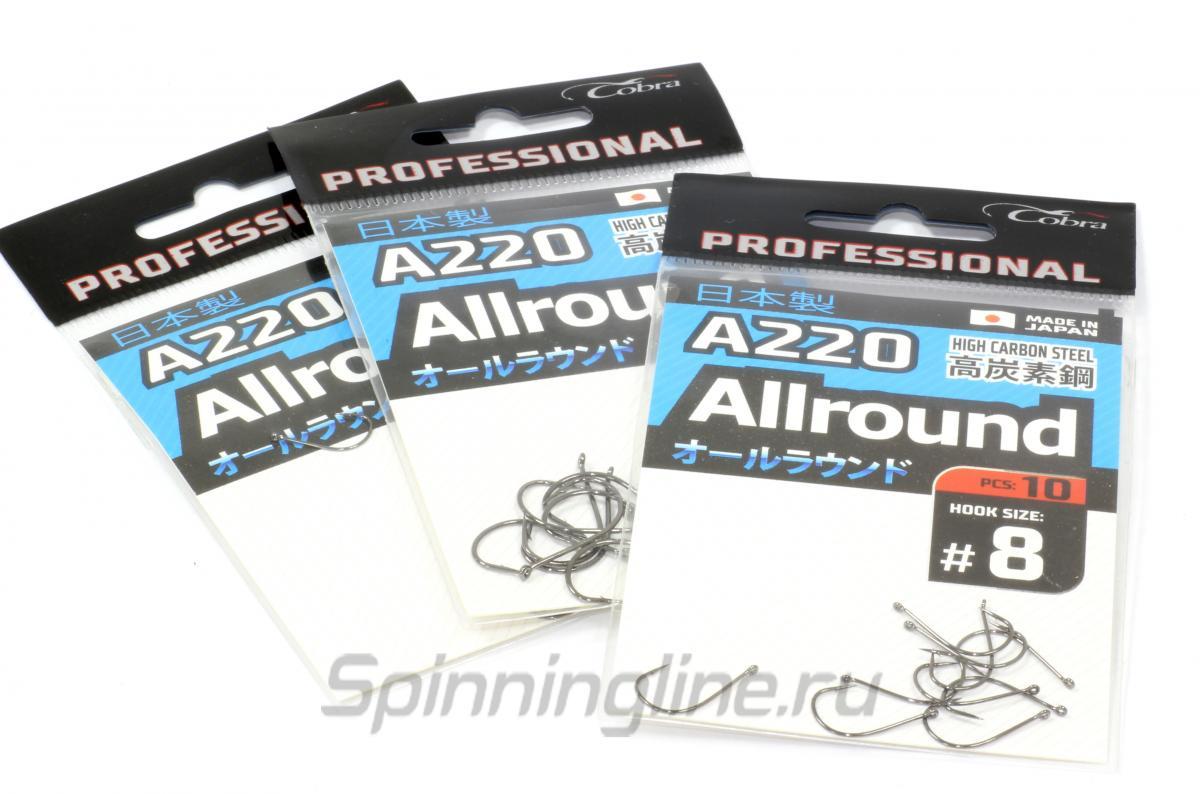 Крючок Allround A220 №6 - фотография упаковки 1