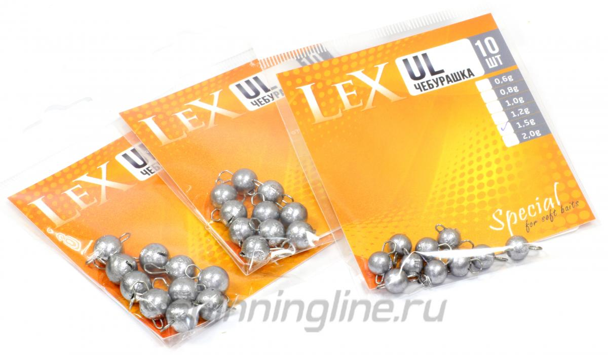 Груз Чебурашка LeX свободное ухо 2гр - фотография упаковки 1
