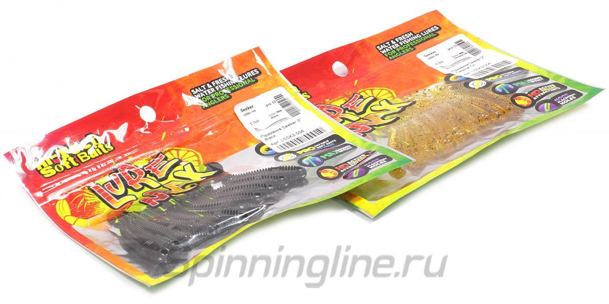 "Приманка Seeker 2,5"" Fire Carrot - фотография упаковки 1"