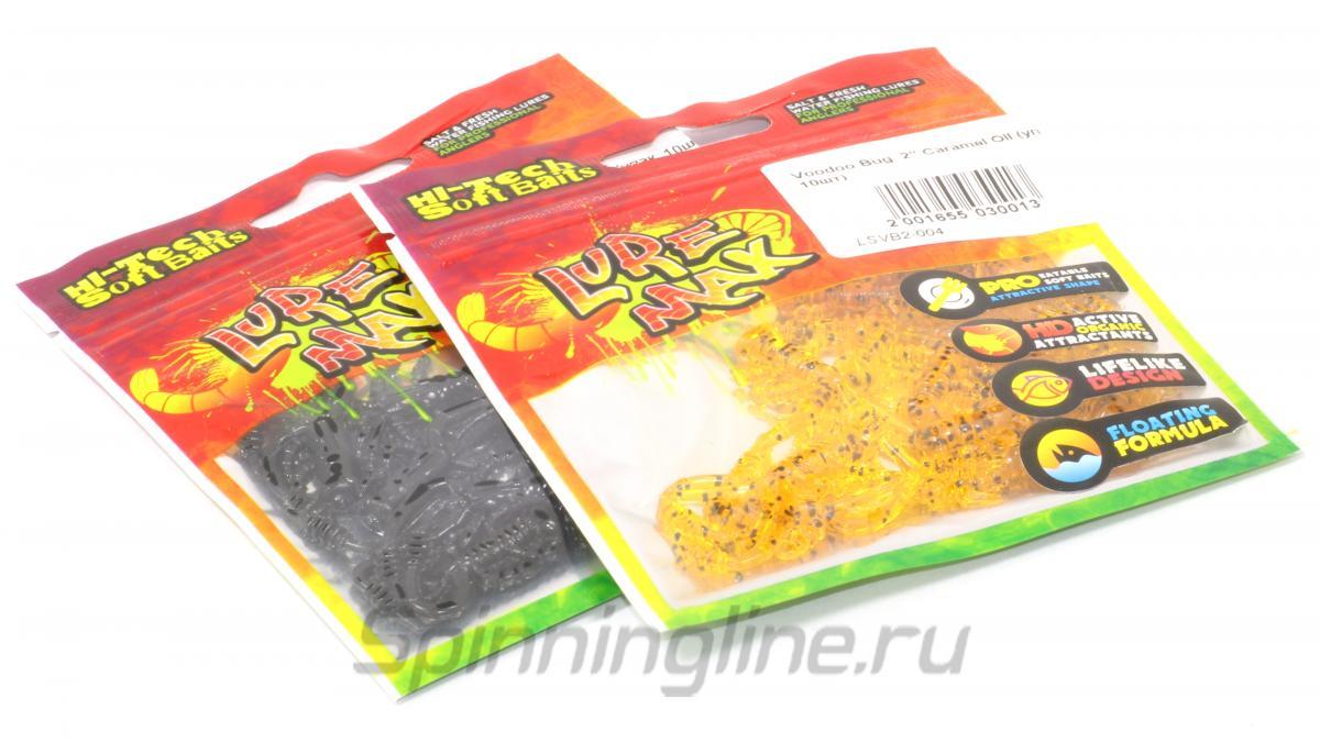 """Приманка LureMax Voodoo Bug 2"""" Motor Oil - Данное фото демонстрирует вид упаковки, а не товара. Товар на фото может отличаться по цвету, комплектации и т.д. Дизайн упаковки может быть изменен производителем 1"""