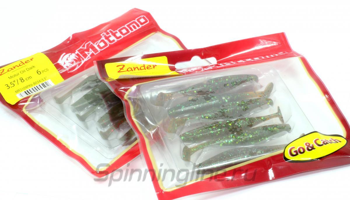 Приманка Mottomo Zander 80 Orange Gold - Данное фото демонстрирует вид упаковки, а не товара. Товар на фото может отличаться по цвету, комплектации и т.д. Дизайн упаковки может быть изменен производителем 1