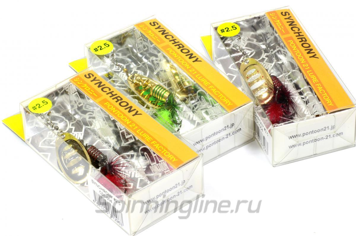 Блесна Synchrony 2.5 T01-054 - фотография упаковки 1