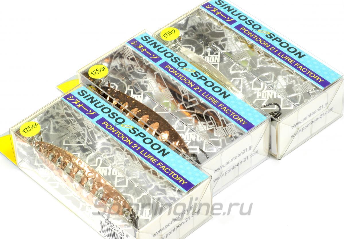 Блесна Sinuoso 21гр NC02-004 - фотография упаковки 1