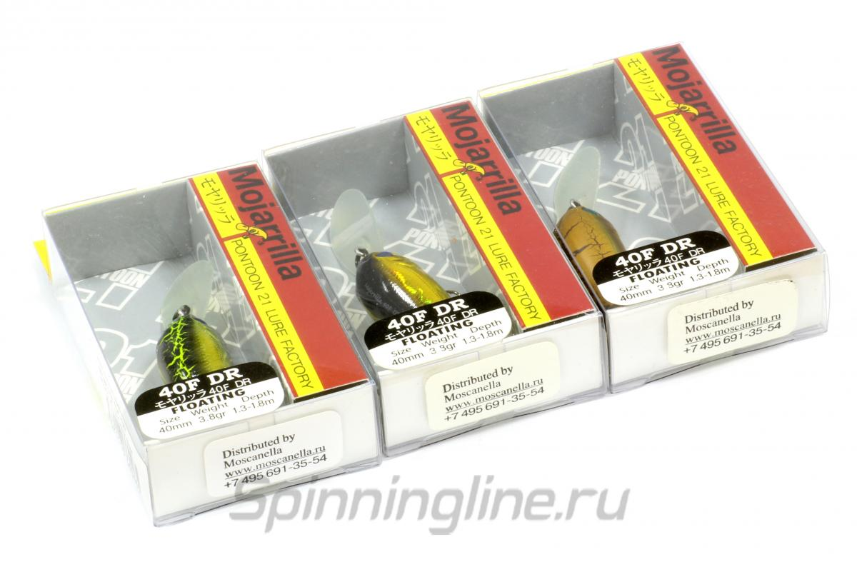 Воблер Mojarrilla 40F-DR 921 - фотография упаковки 1