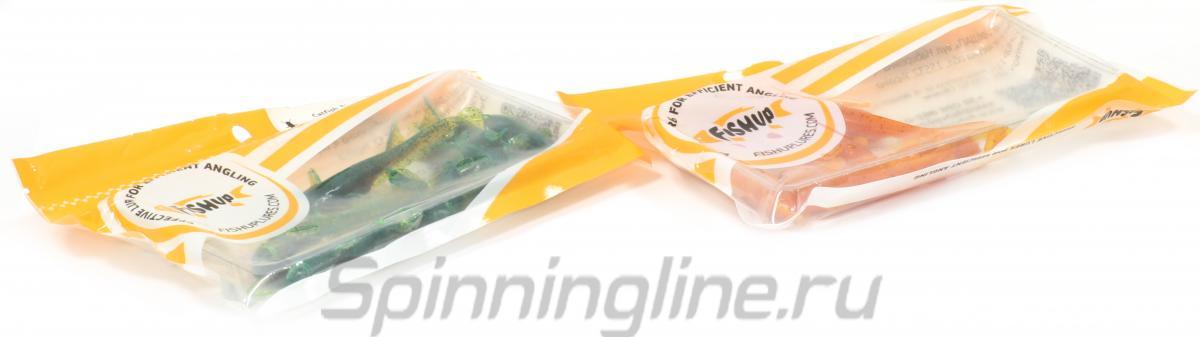 """Приманка FishUp Catfish 3"""" Caramel-Green & Black - Данное фото демонстрирует вид упаковки, а не товара. Товар на фото может отличаться по цвету, комплектации и т.д. Дизайн упаковки может быть изменен производителем 1"""