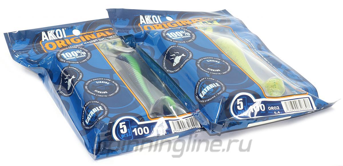 Приманка Akkoi Diplomat 50 OR06 - Данное фото демонстрирует вид упаковки, а не товара. Товар на фото может отличаться по цвету, комплектации и т.д. Дизайн упаковки может быть изменен производителем 1