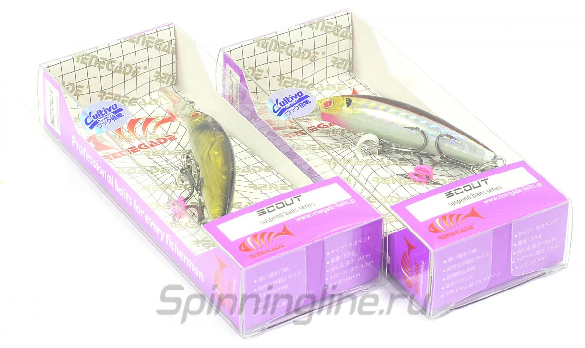 Воблер Scout 53 FA158 - фотография упаковки 1