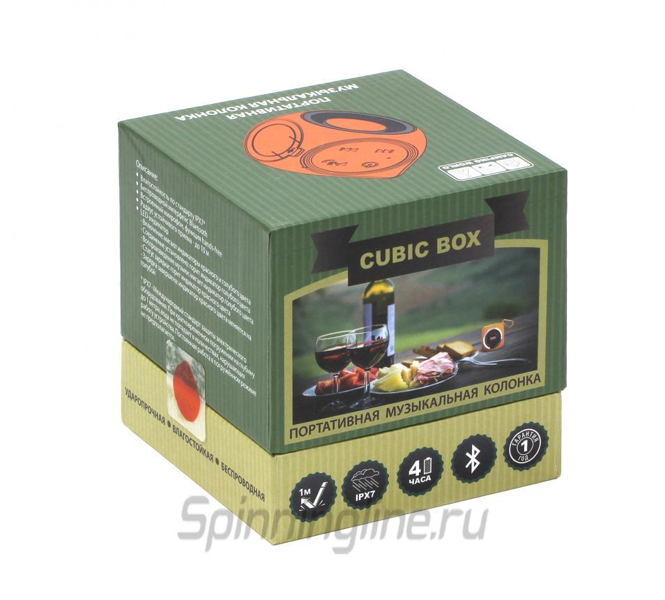 Портативная колонка Camping World Cubic Box - Данное фото демонстрирует вид упаковки, а не товара. Товар на фото может отличаться по цвету, комплектации и т.д. Дизайн упаковки может быть изменен производителем 1
