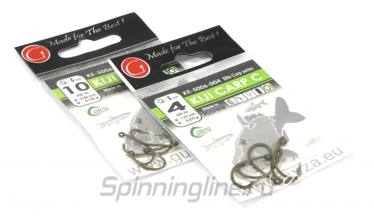 Крючок Kiji C Ring №10 - фотография упаковки 1