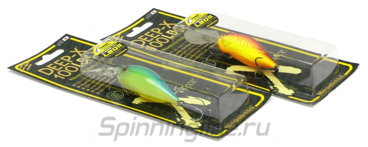 Воблер Deep-X 100 LBO Aka Tora - фотография упаковки (дизайн упаковки может быть изменен производителем) 1
