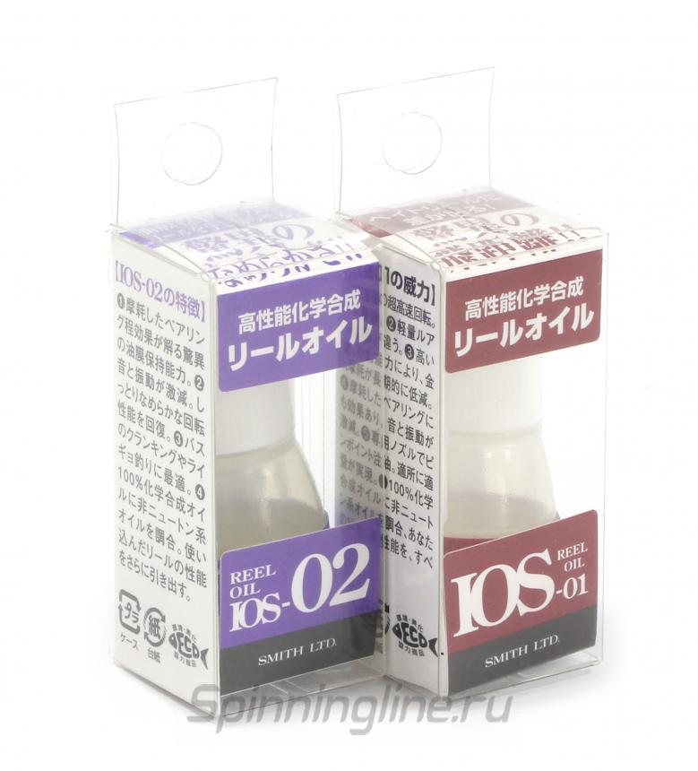 Масло Smith Reel Oil IOS 02 - Данное фото демонстрирует вид упаковки, а не товара. Товар на фото может отличаться по цвету, комплектации и т.д. Дизайн упаковки может быть изменен производителем 1