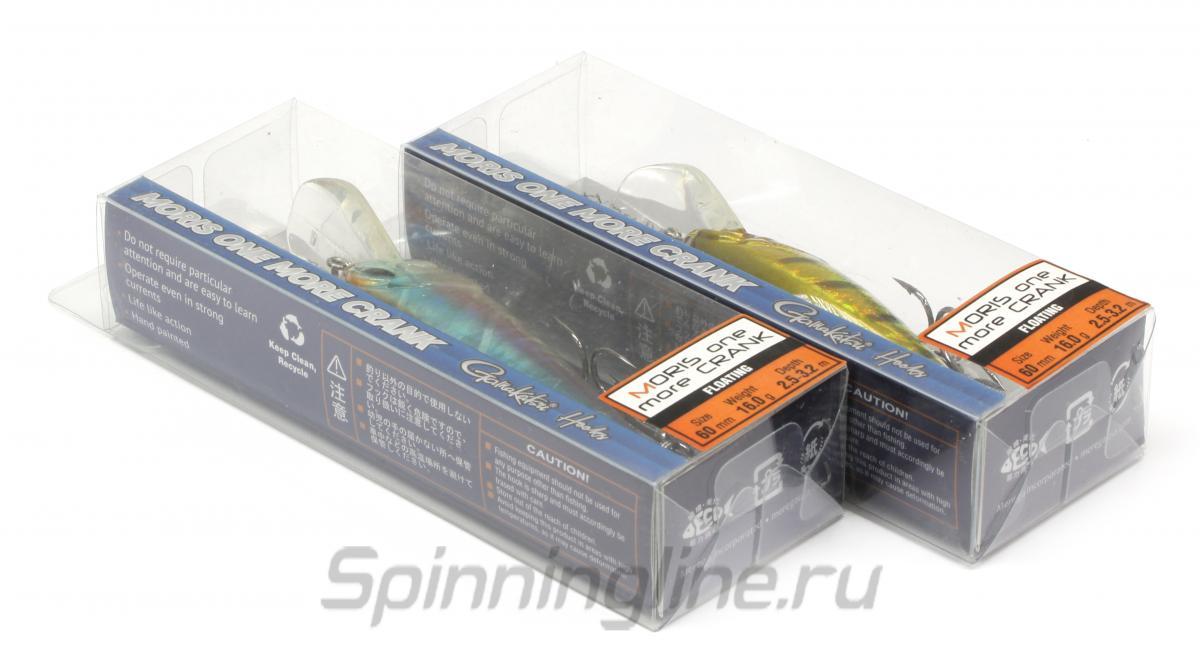 Воблер Moris One More Crank 65 F MC32 - фотография упаковки (дизайн упаковки может быть изменен производителем) 1