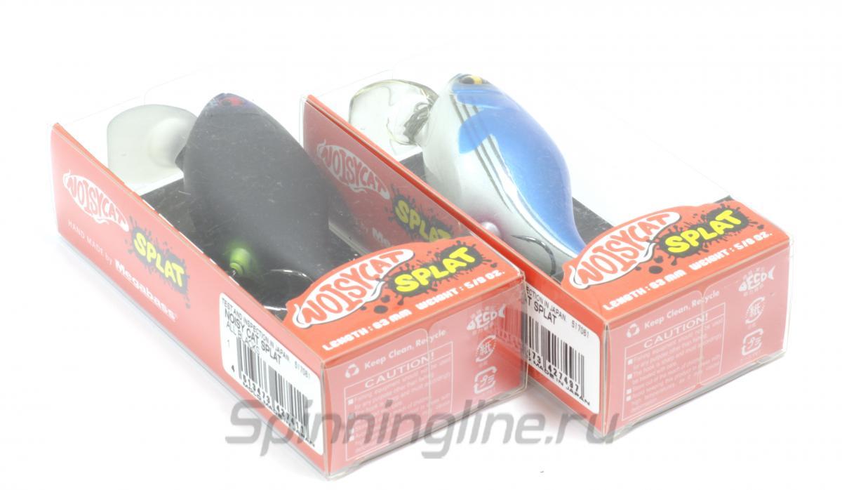 Воблер Megabass Noisy Cat Splat Smoky Pink Back - Данное фото демонстрирует вид упаковки, а не товара. Товар на фото может отличаться по цвету, комплектации и т.д. Дизайн упаковки может быть изменен производителем 1