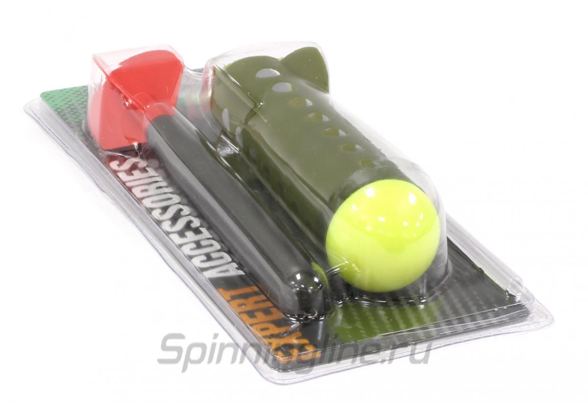 Набор маркерный Carp Pro поплавок + ракета Marker Spod Kit - Данное фото демонстрирует вид упаковки, а не товара. Товар на фото может отличаться по цвету, комплектации и т.д. Дизайн упаковки может быть изменен производителем 1