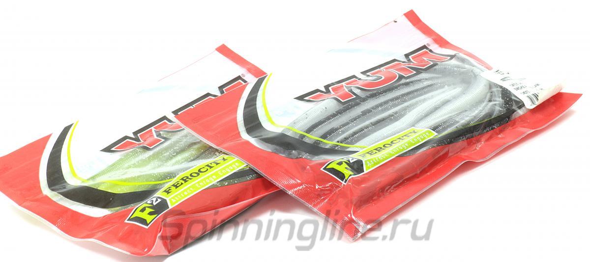 """Приманка Yum Dinger F2 Dinger 5"""" Watermelon Seed - Данное фото демонстрирует вид упаковки, а не товара. Товар на фото может отличаться по цвету, комплектации и т.д. Дизайн упаковки может быть изменен производителем 1"""