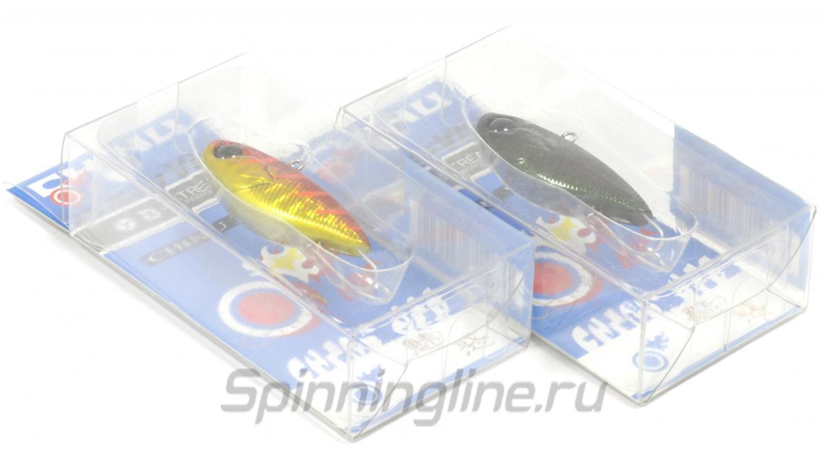 Воблер D-stream Chinu Vib 40S Ginfen Iwashi - Данное фото демонстрирует вид упаковки, а не товара. Товар на фото может отличаться по цвету, комплектации и т.д. Дизайн упаковки может быть изменен производителем 1