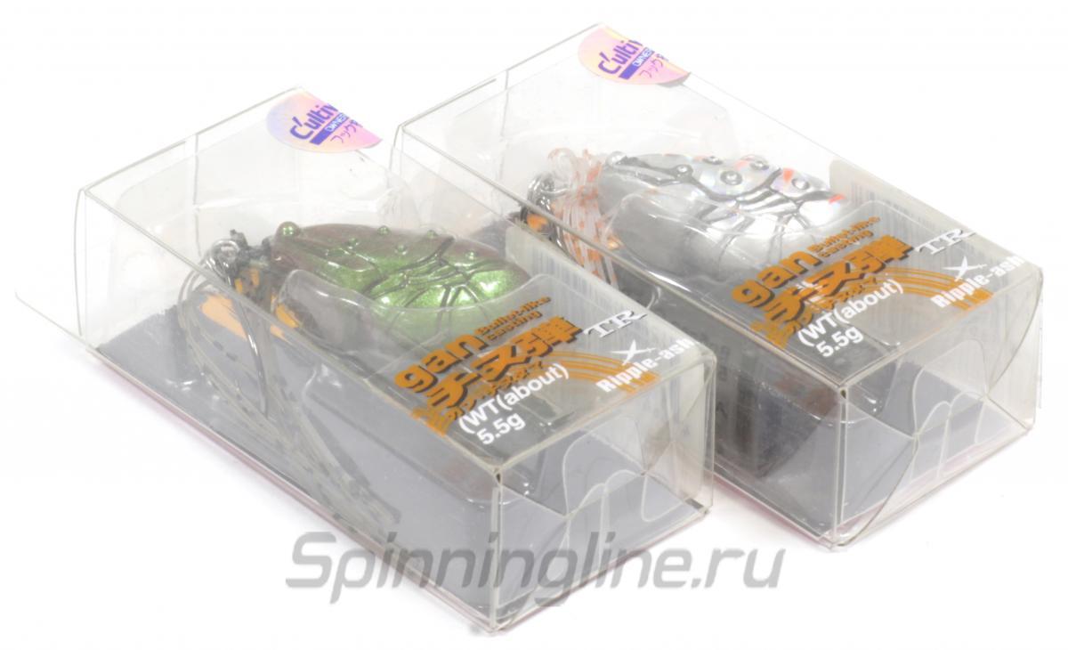 Воблер Ripple-Ash Gan Bullet-Like 5,5гр Maziora - Данное фото демонстрирует вид упаковки, а не товара. Товар на фото может отличаться по цвету, комплектации и т.д. Дизайн упаковки может быть изменен производителем 1
