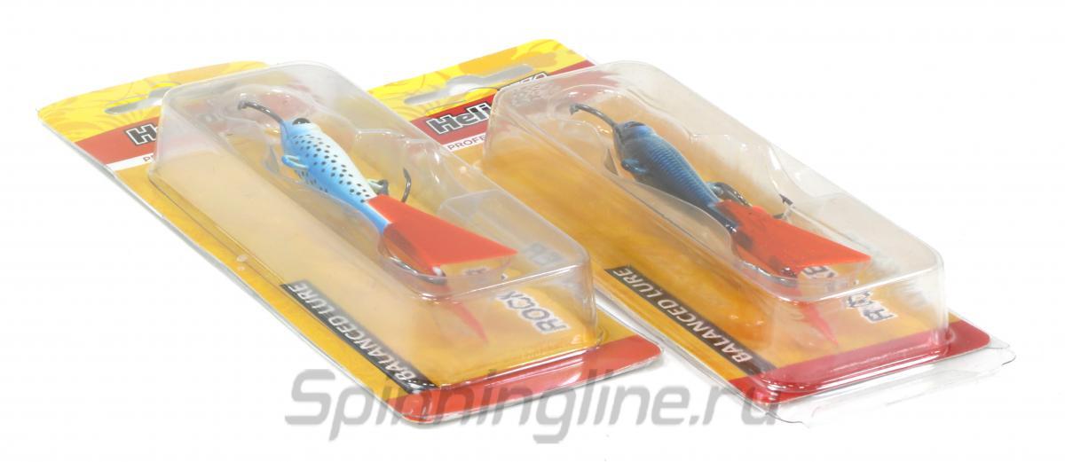 Балансир Helios Rocker 7009 22гр 18 - Данное фото демонстрирует вид упаковки, а не товара. Товар на фото может отличаться по цвету, комплектации и т.д. Дизайн упаковки может быть изменен производителем 1