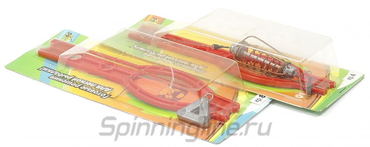 Оснастка Kota №9 Фидер-Тарань, крючок №8, 28 гр - Данное фото демонстрирует вид упаковки, а не товара. Товар на фото может отличаться по цвету, комплектации и т.д. Дизайн упаковки может быть изменен производителем 1