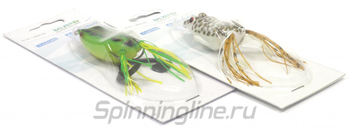 Лягушка Balzer Killer Frog 12см Leopard - Данное фото демонстрирует вид упаковки, а не товара. Товар на фото может отличаться по цвету, комплектации и т.д. Дизайн упаковки может быть изменен производителем 1