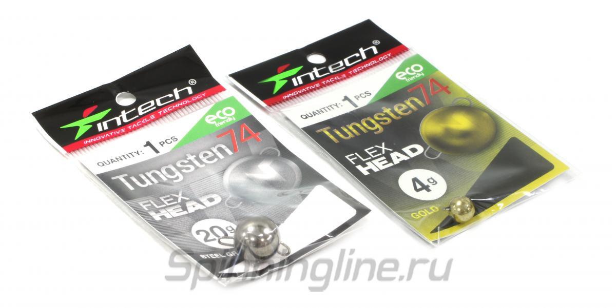Груз Чебурашка Intech разборная Tungsten 74 Steel Gray 10гр - Данное фото демонстрирует вид упаковки, а не товара. Товар на фото может отличаться по цвету, комплектации и т.д. Дизайн упаковки может быть изменен производителем 1