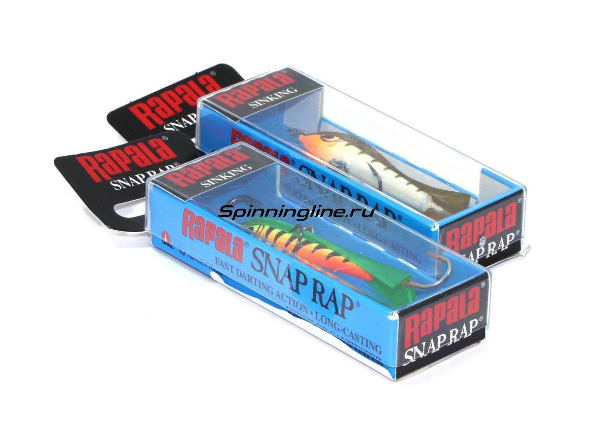 Балансир Rapala Snap Rap 6 GLT - Данное фото демонстрирует вид упаковки, а не товара. Товар на фото может отличаться по цвету, комплектации и т.д. Дизайн упаковки может быть изменен производителем 1