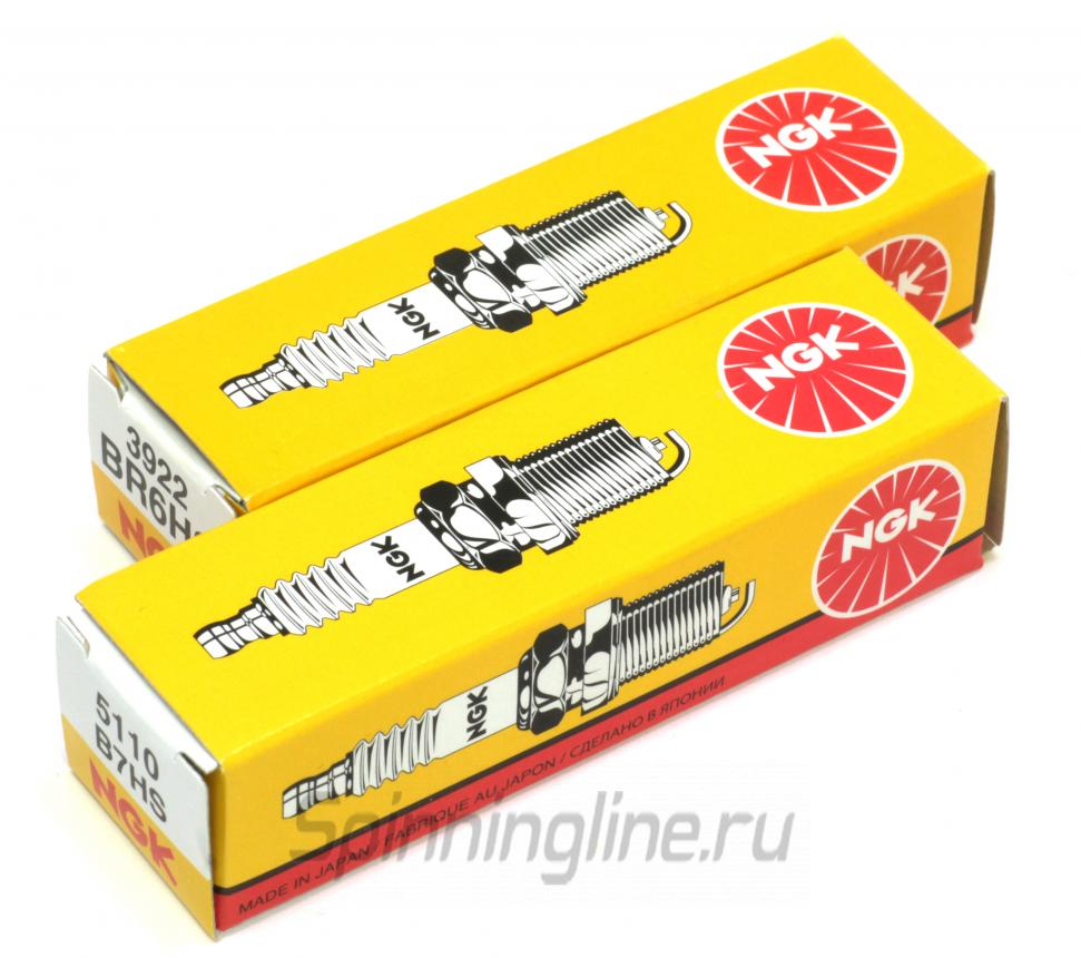 Свеча зажигания NGK BPR7HS-10 - Данное фото демонстрирует вид упаковки, а не товара. Товар на фото может отличаться по цвету, комплектации и т.д. Дизайн упаковки может быть изменен производителем 1