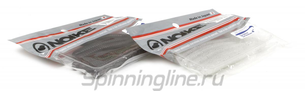 """Приманка Noike Smokin Swimmer 4"""" 049-Bubblegum - Данное фото демонстрирует вид упаковки, а не товара. Товар на фото может отличаться по цвету, комплектации и т.д. Дизайн упаковки может быть изменен производителем 1"""