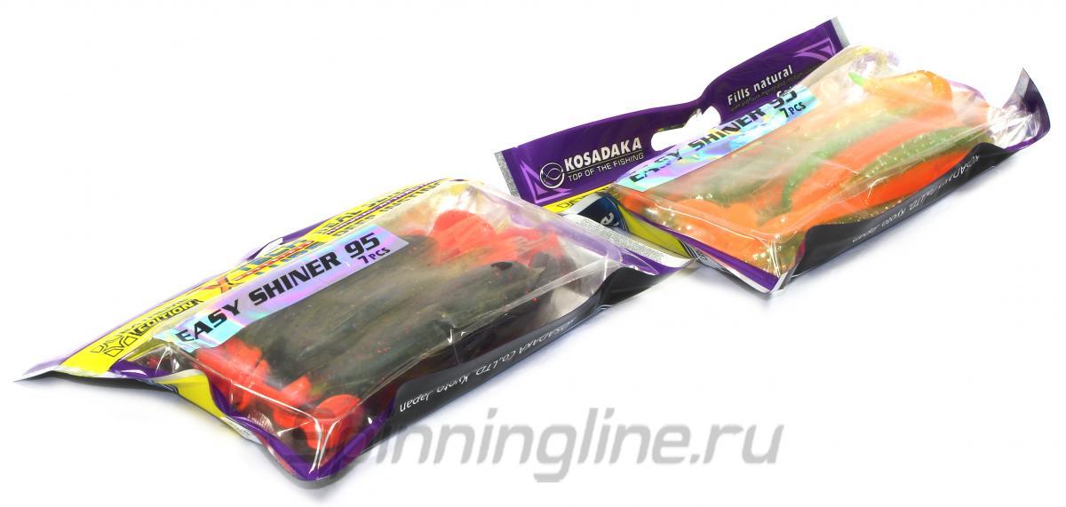 Приманка Kosadaka Easy Shiner 95 -JYS - Данное фото демонстрирует вид упаковки, а не товара. Товар на фото может отличаться по цвету, комплектации и т.д. Дизайн упаковки может быть изменен производителем 1
