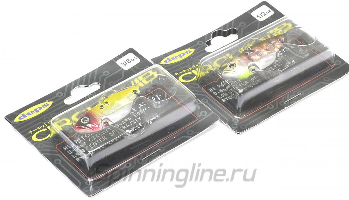 Цикада Deps Circuit Vib 3/8oz 10 - Данное фото демонстрирует вид упаковки, а не товара. Товар на фото может отличаться по цвету, комплектации и т.д. Дизайн упаковки может быть изменен производителем 1