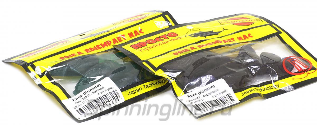 Приманка Knee 70 №015 - фотография упаковки (дизайн упаковки может быть изменен производителем) 1