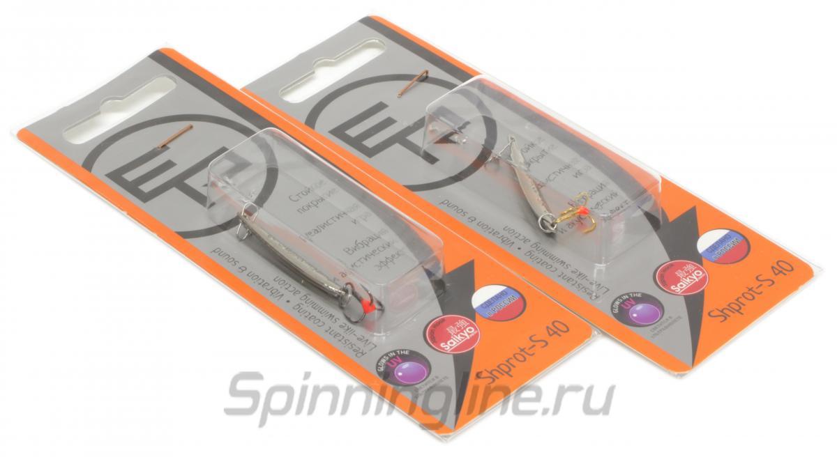 Блесна Eco Pro Shprot-S 40 G - Данное фото демонстрирует вид упаковки, а не товара. Товар на фото может отличаться по цвету, комплектации и т.д. Дизайн упаковки может быть изменен производителем 1