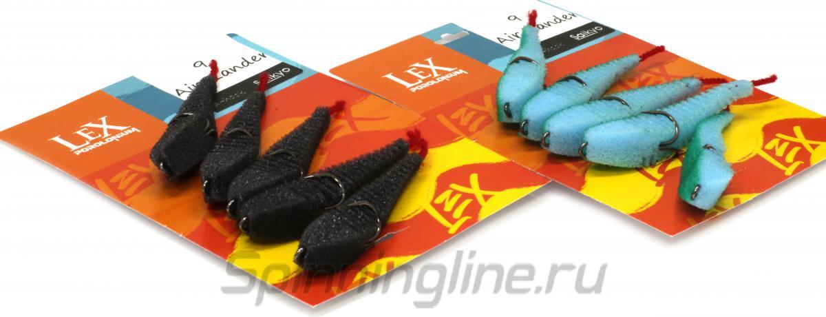 Поролоновая рыбка LeX Air Zander Fish 9 YRB - Данное фото демонстрирует вид упаковки, а не товара. Товар на фото может отличаться по цвету, комплектации и т.д. Дизайн упаковки может быть изменен производителем 1