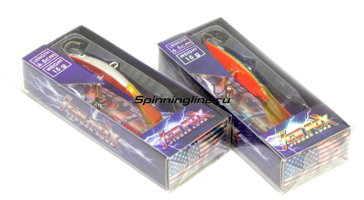 Балансир Scorana Ice Fox 65 15гр C15 - Данное фото демонстрирует вид упаковки, а не товара. Товар на фото может отличаться по цвету, комплектации и т.д. Дизайн упаковки может быть изменен производителем 1